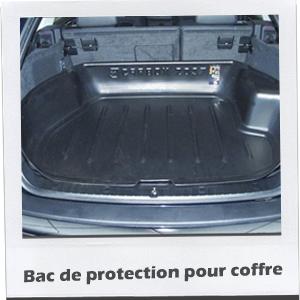 Bac de protection pour coffre for Housse protection coffre chien
